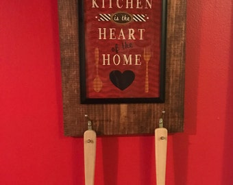 Decorative Kitchen utensil hanger