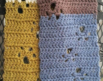 Paw Prints scarf