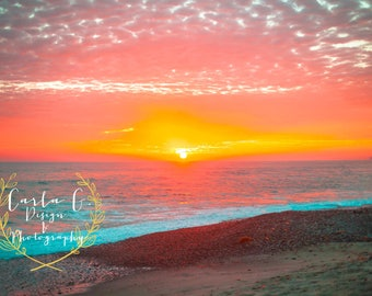 North Beach, San Clemente Sunset Photography