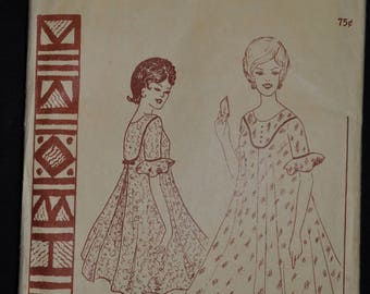 1950's Misses' Muu Muu Pattern - Size Small - Polynesian pattern 145