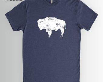 Bison Shirt | Buffalo Shirt, Wyoming Shirt, Buffalo Shirt