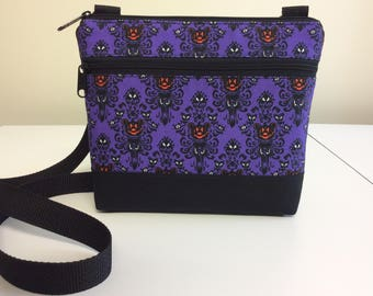 NEW-Haunted Pumpkins Custom Print Crossbody Bag
