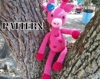 Skylar Giraffe Crochet PATTERN