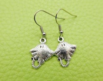 Stingray Earrings stainless steel