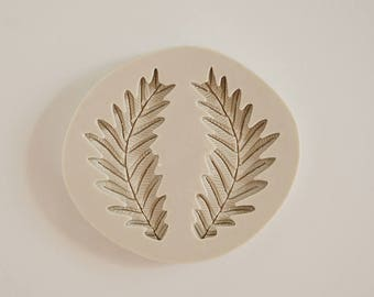 Leaf, Flourish, Laurel, Wreath Silicone Mold for fondant and gumpaste cake decorating