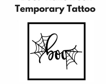 Halloween Temporary Tattoos - Temporary Tattoos Halloween - Halloween Costume - Baby Halloween Costume - Toddler Halloween Costume Baby Girl