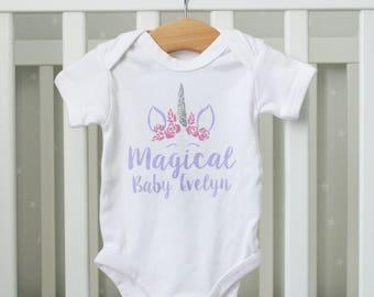 Magical Baby Unicorn Top