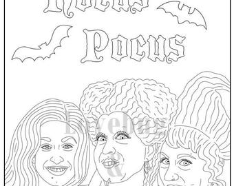 Golden Girls Coloring Book // Instant Printable Digital File