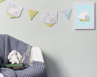 Bunny Bunting For A Bunny Themed Nursery