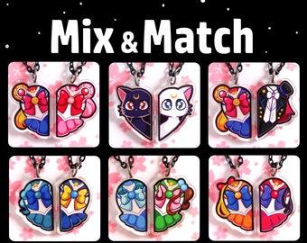 Sailor Moon BFF Necklaces