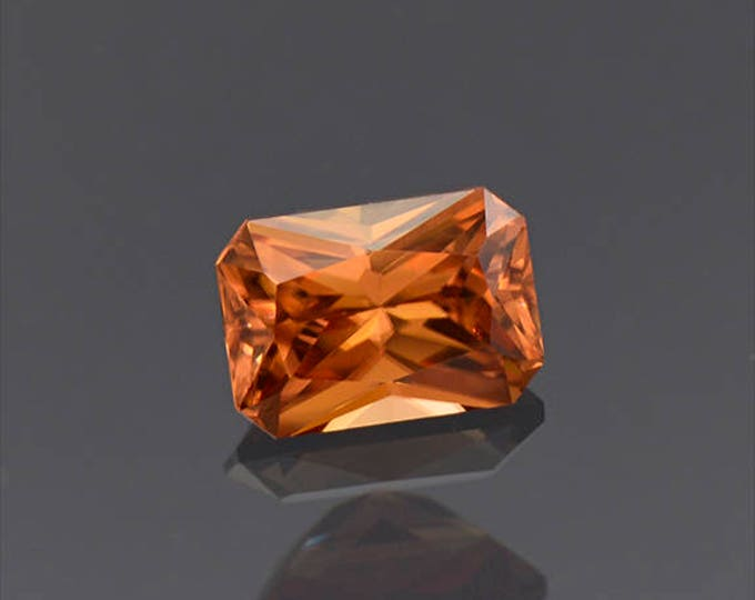 Beautiful Bright Orange Zircon Gemstone from Tanzania 1.87 cts.