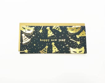 Happy New Year #10 Card Gold