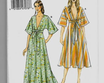 V9253 Vogue Dress Sewing Pattern Sizes 4-14 Very Easy