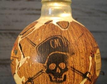 Captain Morgan Loco Nut Lighted Rum Bottle