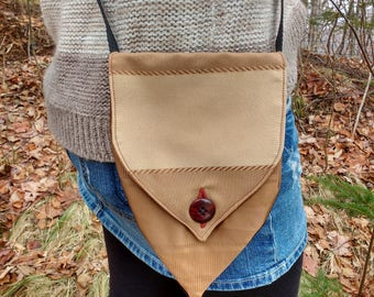Brown Toned Shoulder Purse