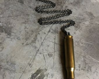 308 Winchester Bullet Necklace