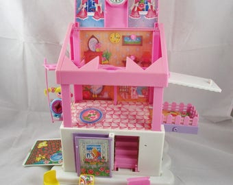 Sweet Secrets Jewelry Box Doll House Galoob Play Set Shinie Doll