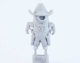 Minion Sheriff Gunslinger resin figure