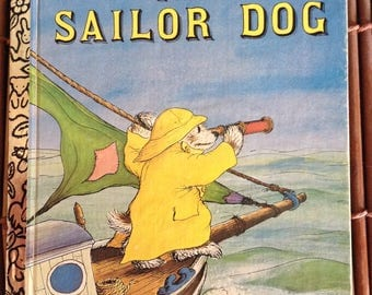 The Sailor Dog Little Golden Book