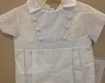 Travis Christening, Baptism, Blessing, After Christening Outfit for Baby Boy's SIZE 3 months