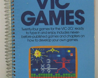 Commodore VIC-20 Book - Compute's First Book of VIC Games 1983 Vintage