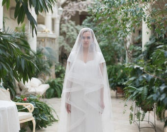 Horsehair Veil A15 Bridal Drop Wedding