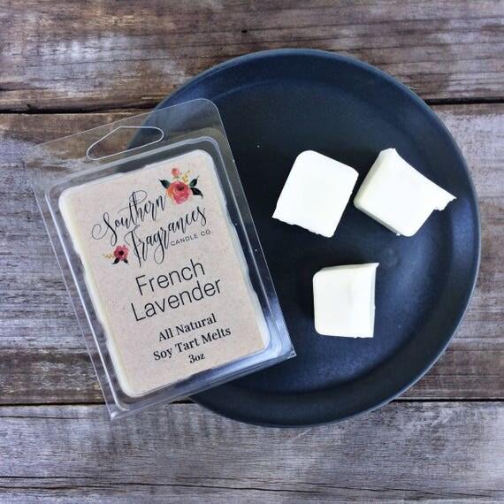 French Lavender Soy Tart Melt | Tart Melt | All Natural Soy | Eco Friendly | Home Decor | Lavender Candle | Tart Warmer | Relaxing