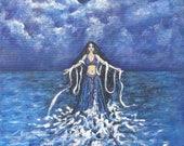 Art Print Moon Goddess Se...