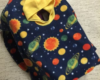 Car Seat Poncho - Carseat Poncho - Car Seat Canopy - Space Galaxy Car Seat Poncho - Car Seat Blanket - Car Seat Cover - Space Galaxy  Poncho