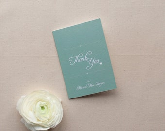 EMILY // Wedding Stationery // Thank You Card