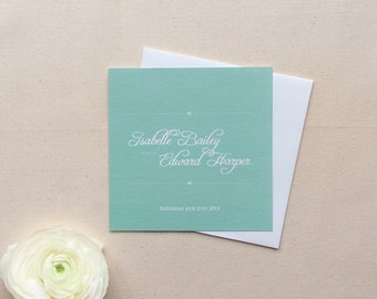 EMILY // Wedding Stationery // Invitation