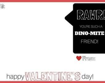 RAWR! Dino-mite Valentine