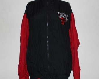 Vintage Chicago Bulls NBA Windbreaker XL
