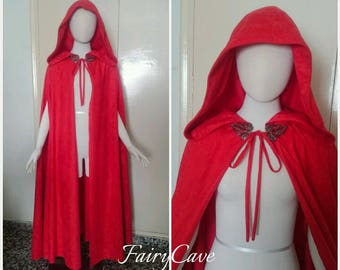 Medieval Little Red Riding Hood Cape
