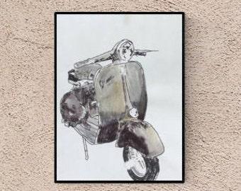 illustration : vespa
