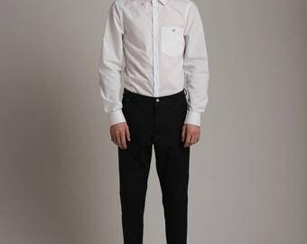 Mens Shirt White Shirt for Men Mens White Shirt White Dress