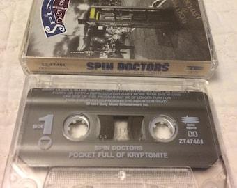 Spin Doctors Pocket Full Of Kryptonite Cassette Tape