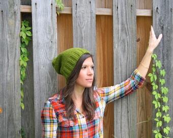 The Ashland Knitted Beanie - Green