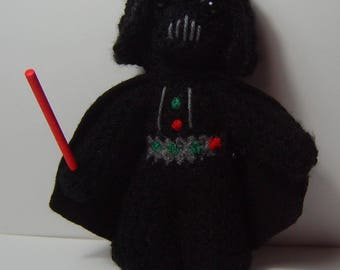C3P0, vader,or Stormtrooper inspired crochet characters for Star Wars fans