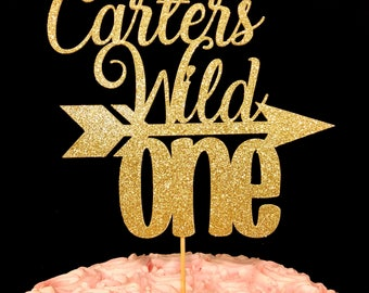 Wild One cake topper, Wild One, Wild one topper, Wild topper, cake topper, birthday, 1st birthday cake topper, Wild one 1st birthday topper