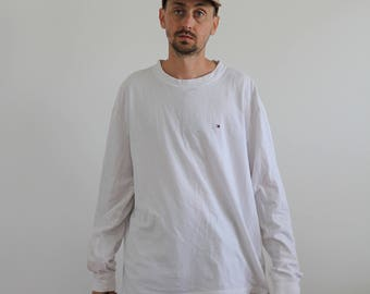 Minimal Tommy Long Sleeve Tee XL