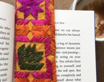 Phulkari Bookmark