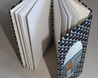 sketchbook, notebook, diary, hand-bound, blank pages