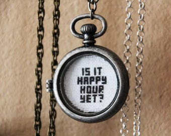 Necklace - Is It Happy Hour Yet?