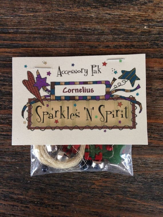 "Accessory Pak: Cornelius - 19"" Mouse - Christmas"