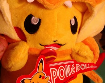 8 inch Plush Pokemon Pokemon PokeDoll with Charizard Costume