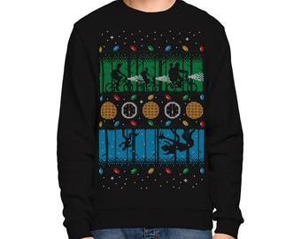 Stranger Things SWEATER / Upside Down Christmas / Eighties / SciFi / Ugly Sweater