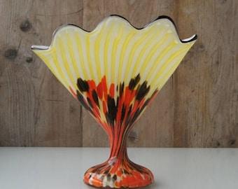 Range-Vase to design Franz Welz for Klostergrab, Czech Bohemia circa 1920.