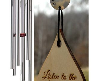 BEST Value 54 inch Complete Customization Listen to the Wind Memorial Wind Chime Grieving Gift WindChime Custom in memory of