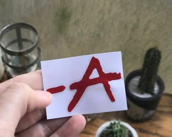 Signed -A Decal, PLL